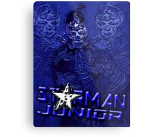 Starman Jr. - Professional Superhero Metal Print