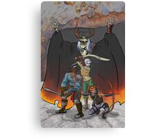 Strongarm & Lightfoot: Scratching a Lich Canvas Print