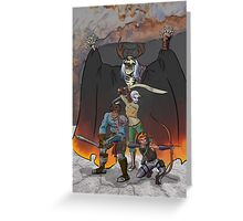 Strongarm & Lightfoot: Scratching a Lich Greeting Card