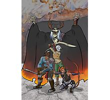 Strongarm & Lightfoot: Scratching a Lich Photographic Print
