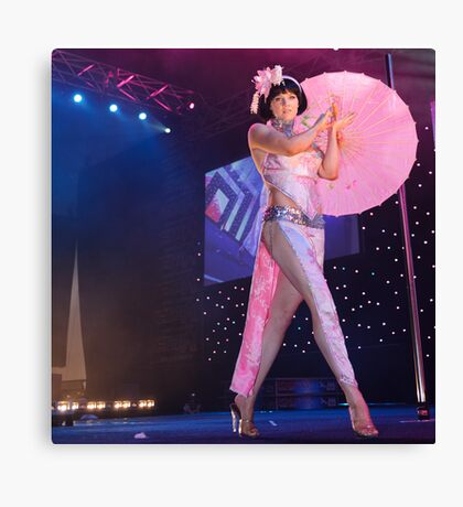 Susie Q Stage Show #5 Canvas Print