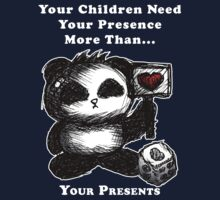 Your Children Need Your Presence! - dark tees Kids Tee