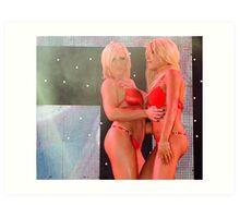 Show Girls Art Print