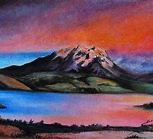 My first Pastel by Sonja Scheppy
