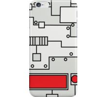 Metal Lab - Ghost Gear Red - Danny Phantom iPhone Case/Skin