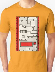 Metal Lab - Ghost Gear Red - Danny Phantom T-Shirt