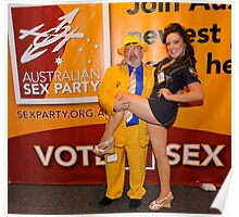 Australian Sex Party Poster
