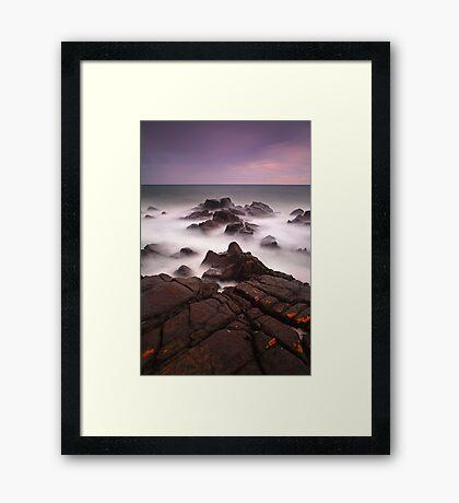 """Stormy Saturday"" Framed Print"