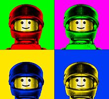 Andy Warhol - The lego years by dobseh