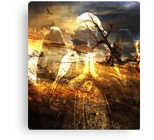 HOPE ~ EVEN AMONGST THE MOST BARREN OF PLACES Canvas Print