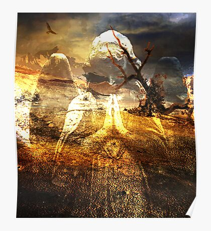 HOPE ~ EVEN AMONGST THE MOST BARREN OF PLACES Poster