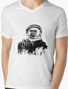 Space Chimp II Mens V-Neck T-Shirt