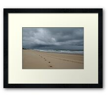 Storm Beyond Framed Print
