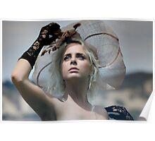 """High Fashion Headshot"" Poster"