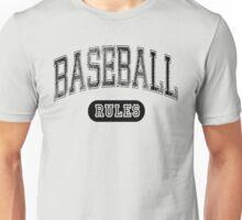 Baseball Rules - Light Unisex T-Shirt