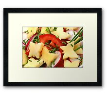 Summer, Summer ....Light Salads Framed Print