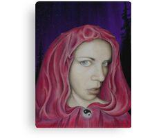 lynsye as red ridding hood Canvas Print