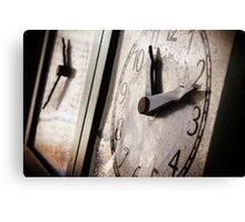 Time's Running out Canvas Print