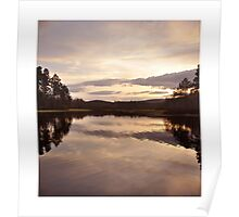 A spring evening at Loch Kinord Poster
