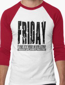 Friday 01 - Light Men's Baseball ¾ T-Shirt