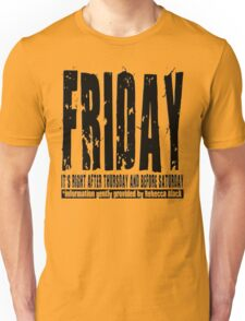 Friday 01 - Light Unisex T-Shirt