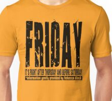 Friday 01 - Light Unisex T-Shirt
