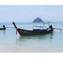 Long Boat Photographic Print