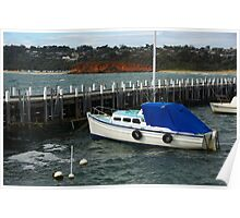 Pier at Mornington Peninsula  Poster
