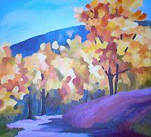 Purple Forest by Carolisa
