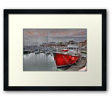 Proud Seahorse Framed Print