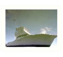 Boat Reflection Art Print