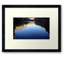 Gorge Light Framed Print