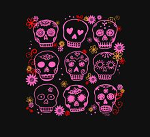Mexican Pink Skulls Women's Relaxed Fit T-Shirt