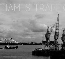 Thames Traffic by brianfuller75