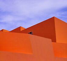 The Orange Fort by Paulo Ferreira