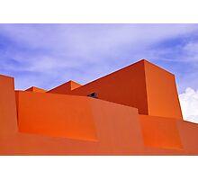 The Orange Fort Photographic Print