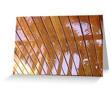 Rain Reflection Greeting Card