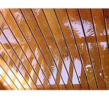 Rain Reflection Photographic Print