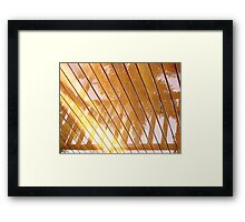 Rain Reflection 2 Framed Print