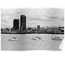 Chatham Maritime Poster
