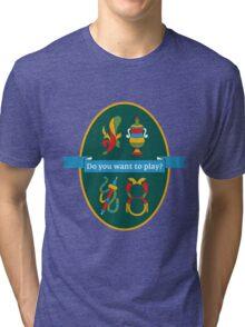 Carte Napoletane Tri-blend T-Shirt