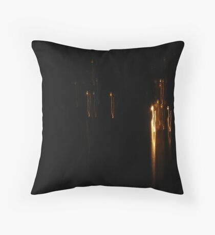 Fire Dance On Water Throw Pillow