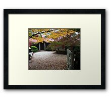 Mountain Cottage 2 Framed Print