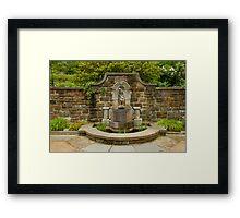 Winterthur Fountain Framed Print