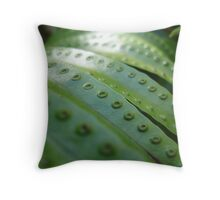Fern Gully Throw Pillow