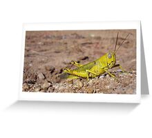 Lemon Hopper Greeting Card