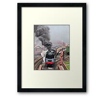 The Goathland Express Framed Print