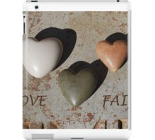 Love and Faith iPad Case/Skin