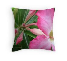 Burst Of Life Throw Pillow