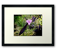 Forest Fusion Framed Print